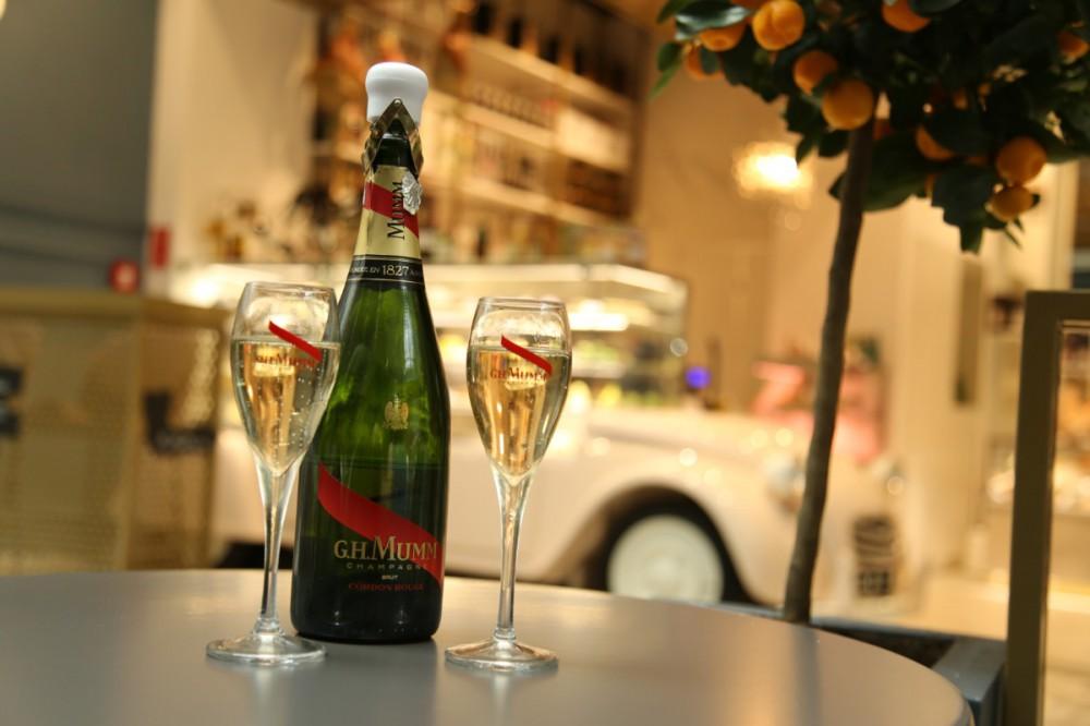 G.H.Mumm z domu szampańskiego założonego w 1827 roku